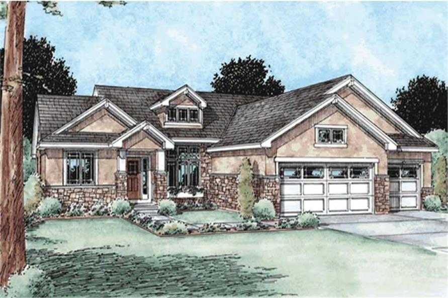 Main image for house plan # 11583