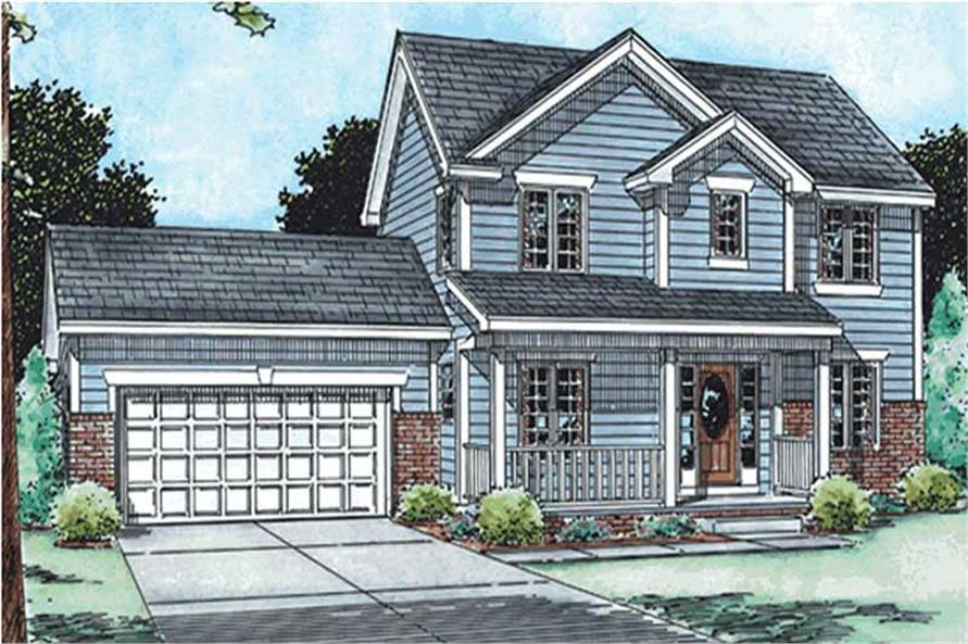 Main image for house plan # 11561