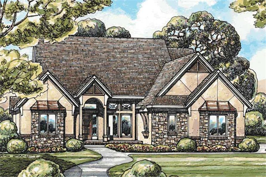Main image for house plan # 11582