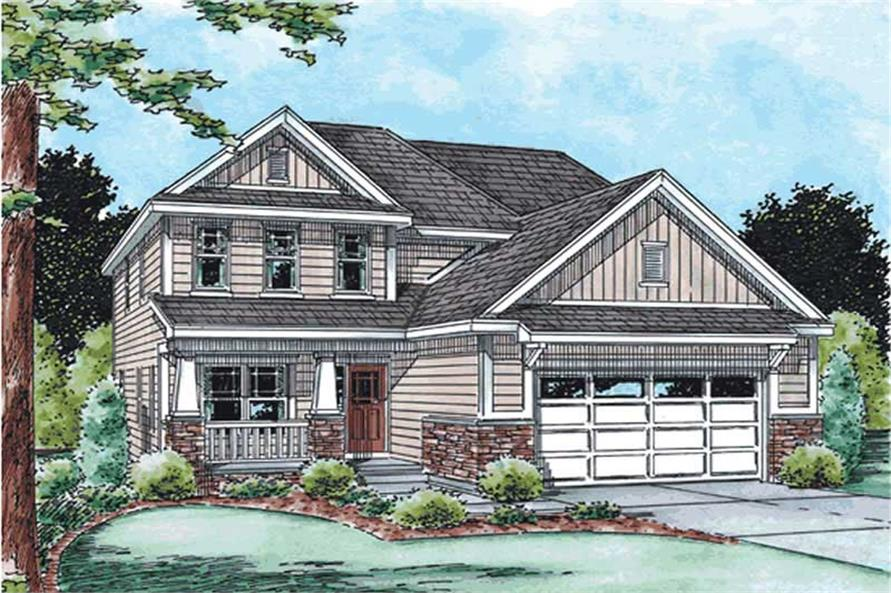 Main image for house plan # 11558