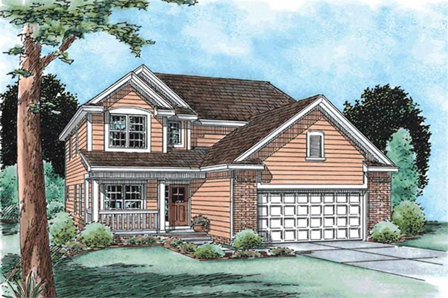 Main image for house plan # 11559