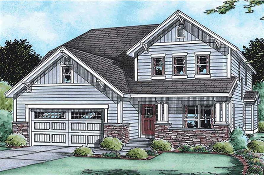Main image for house plan # 11563