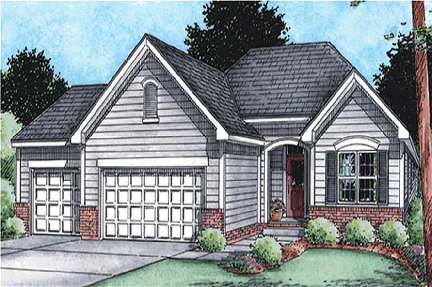 Main image for house plan # 11567