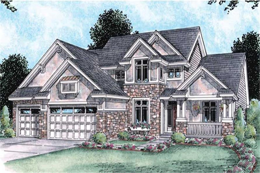 Main image for house plan # 11587