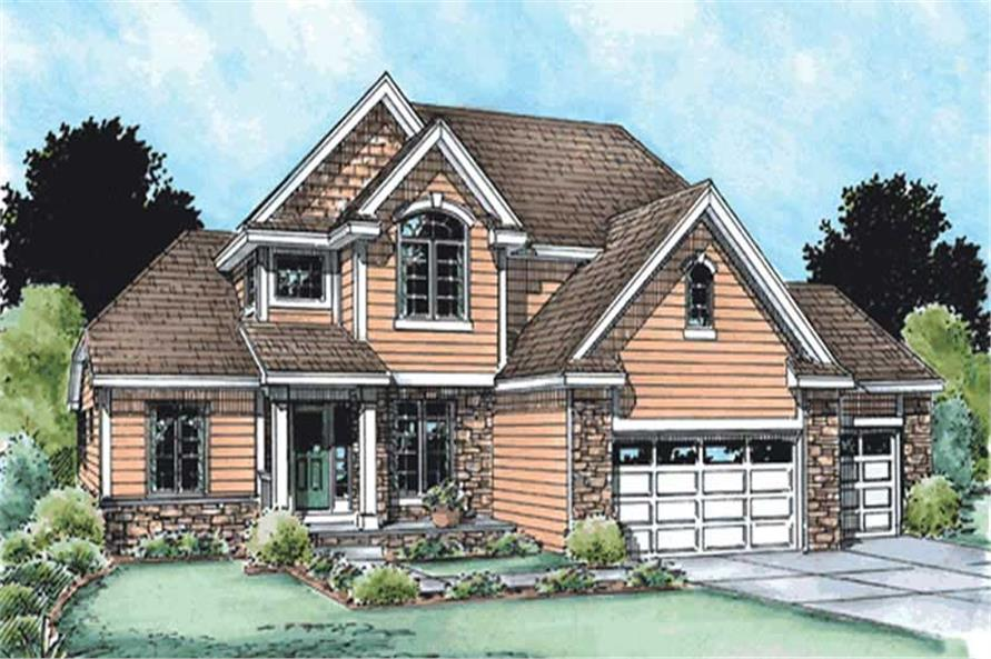 Main image for house plan # 11576