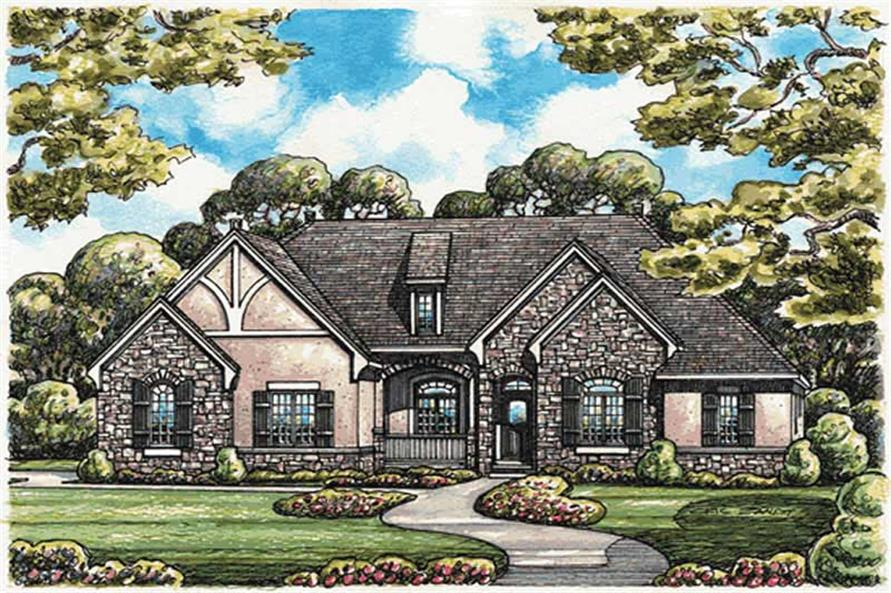 Main image for house plan # 11580