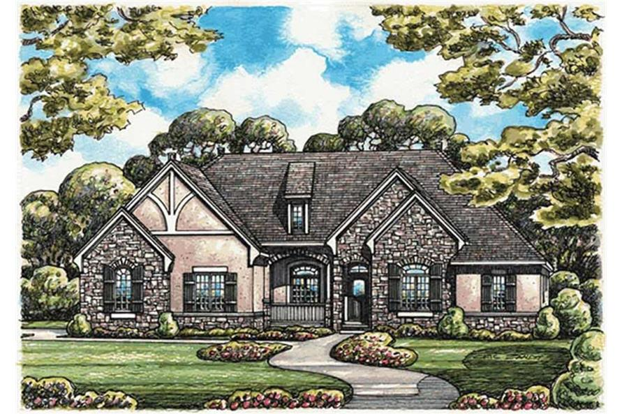 120-2122: Home Plan Rendering