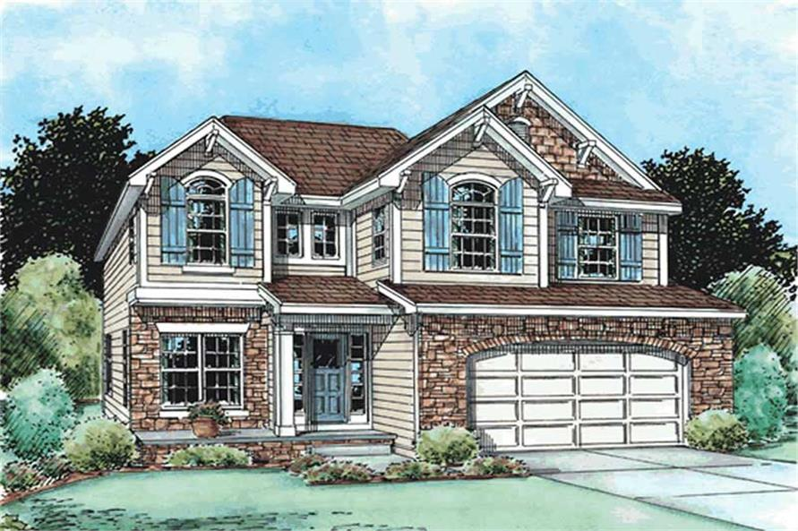 Main image for house plan # 11568