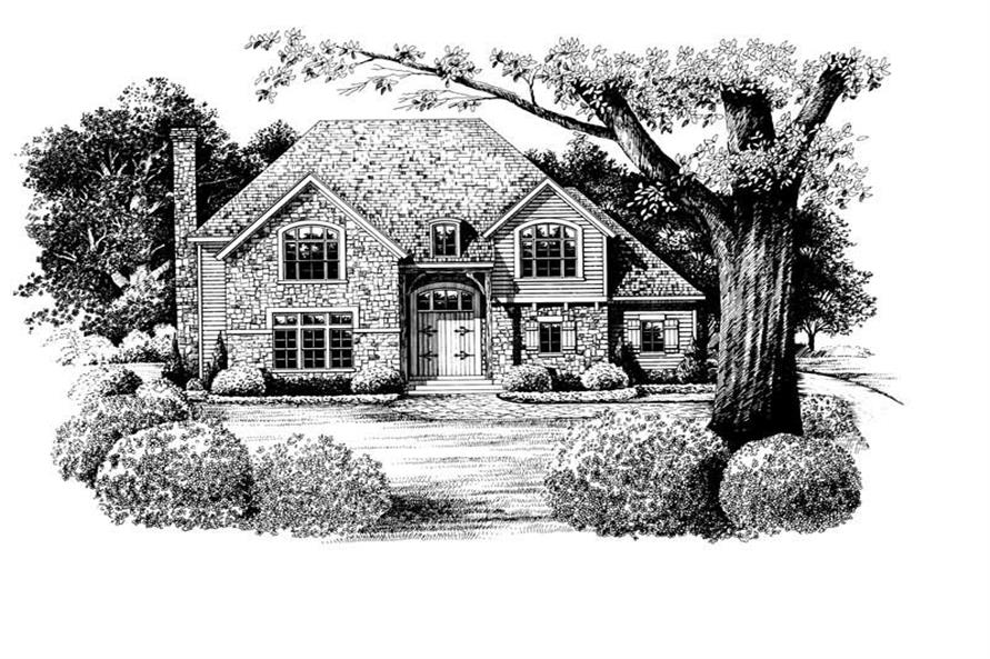 Main image for house plan # 6472