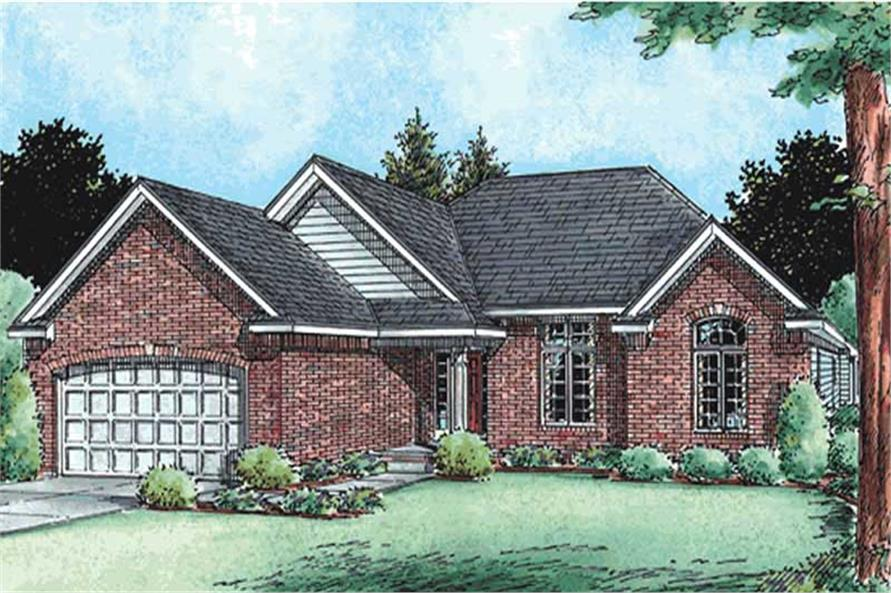 Main image for house plan # 11535