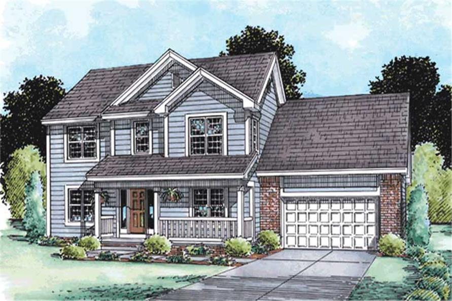 Main image for house plan # 11538