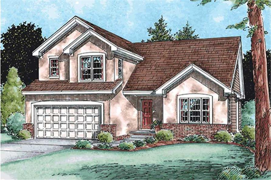Main image for house plan # 11553