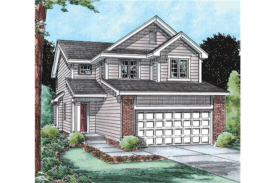 120-2137: Home Plan Rendering