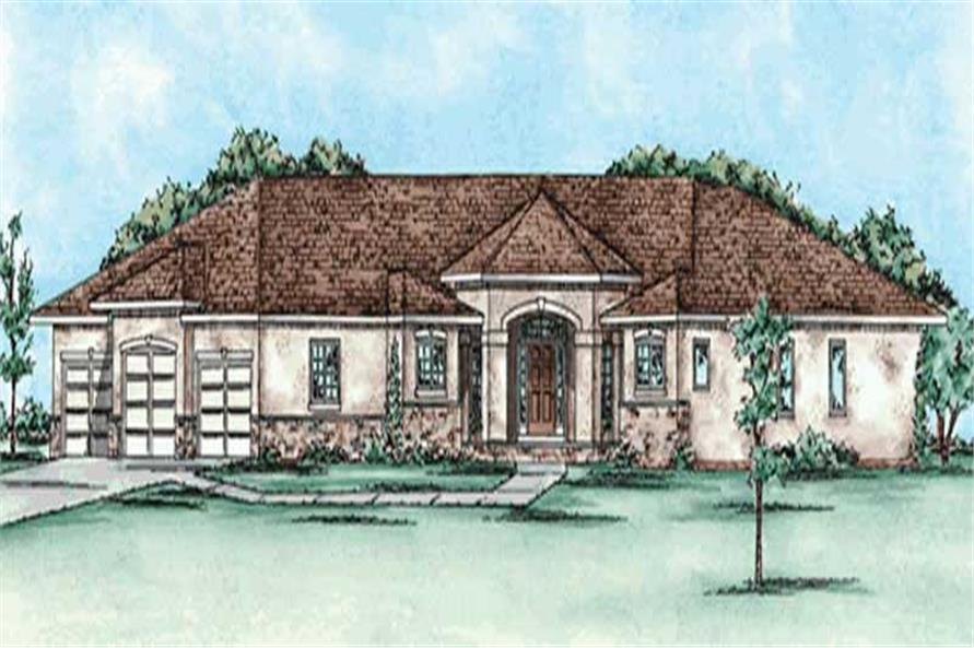 Main image for house plan # 11588