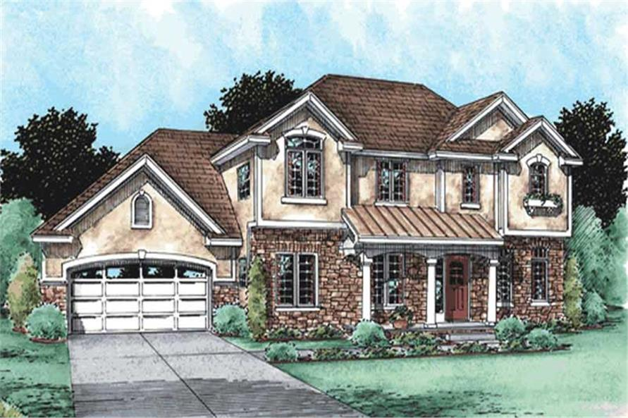 Main image for house plan # 11542