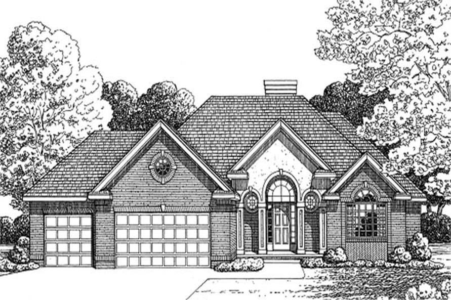 Main image for house plan # 11618