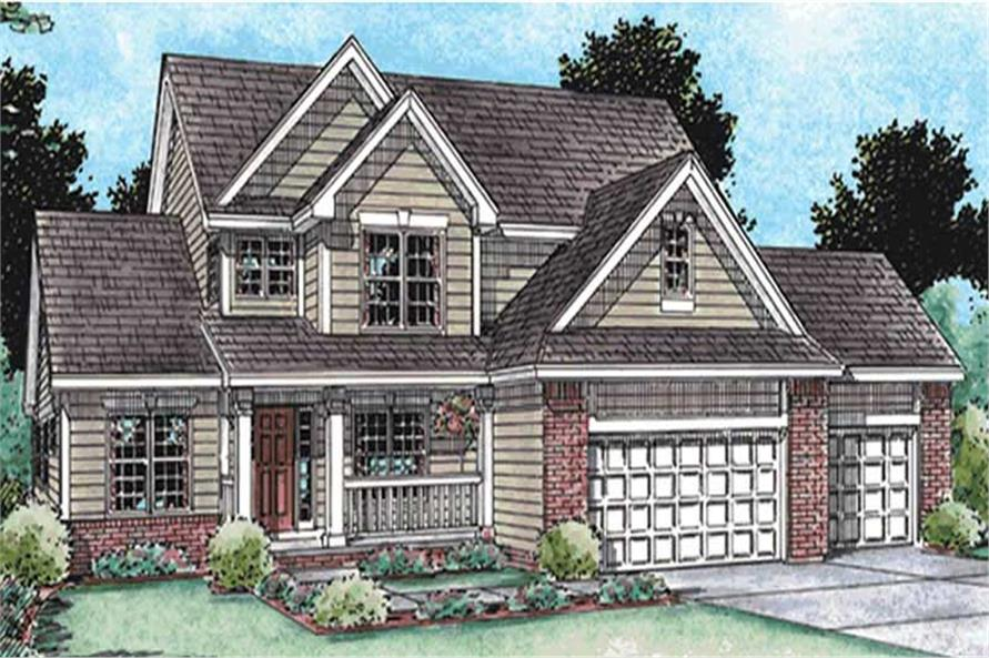 Main image for house plan # 11577