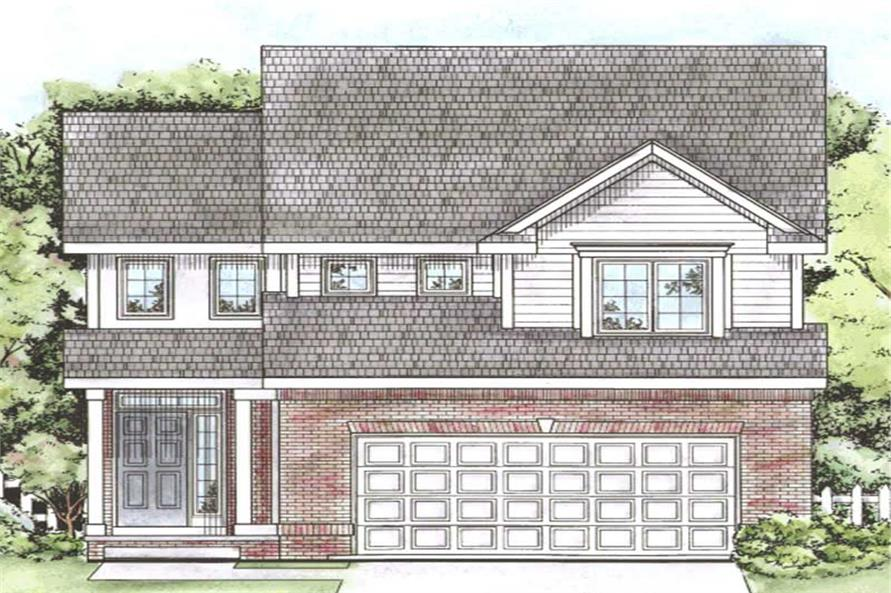 Main image for house plan # 11593