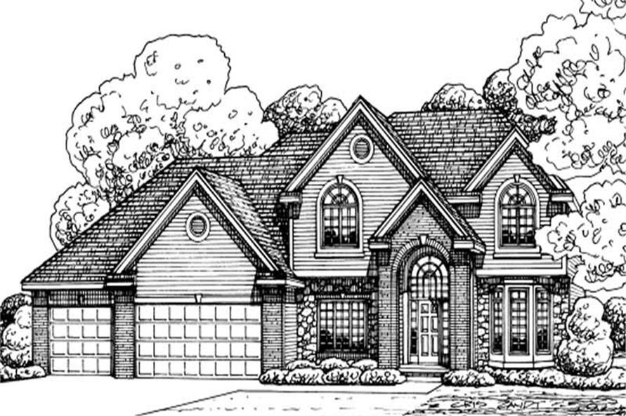 Main image for house plan # 11611