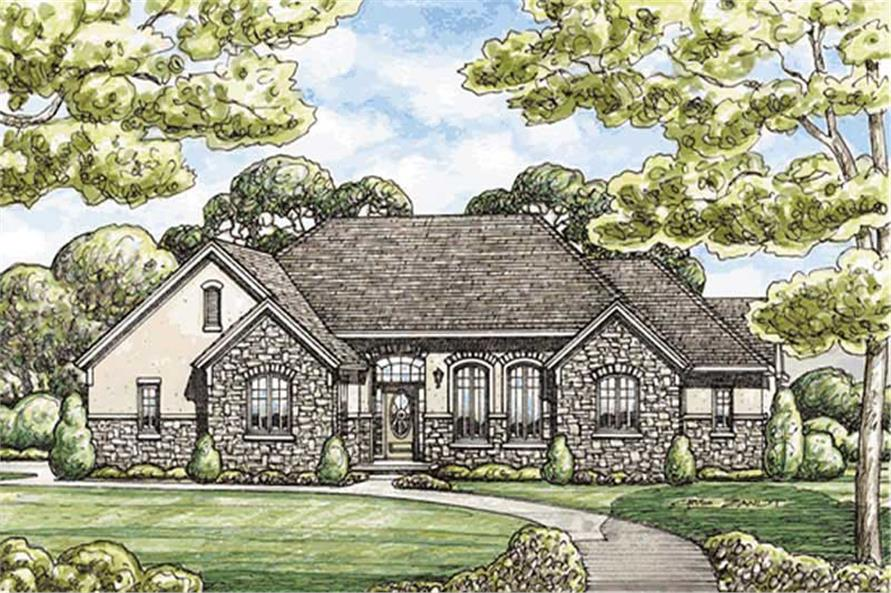 Main image for house plan # 11600