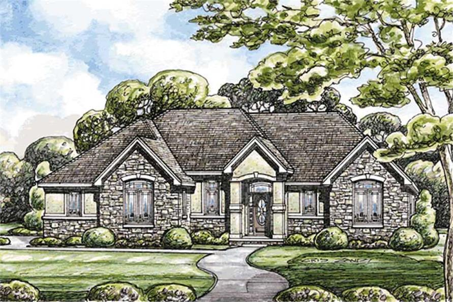 Main image for house plan # 11604
