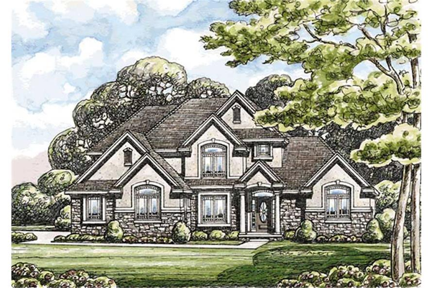 120-2171: Home Plan Rendering