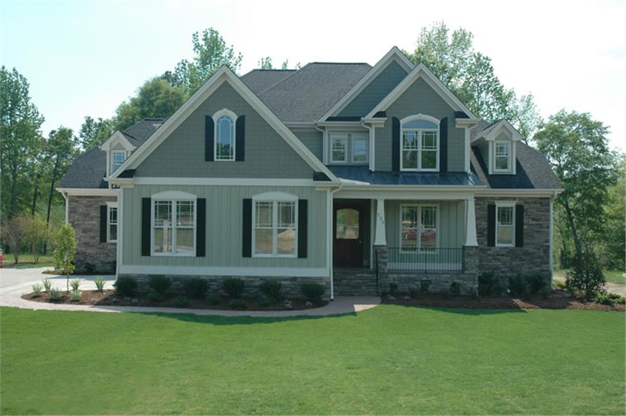 Main photograph for House Plan # 120-2176