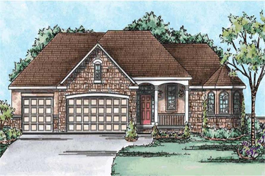 Main image for house plan # 11676