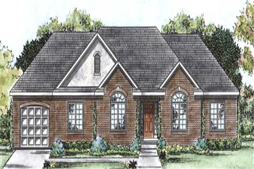 Main image for house plan # 11680