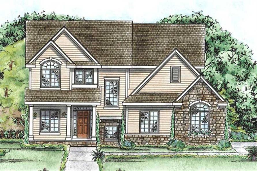 Main image for house plan # 11679
