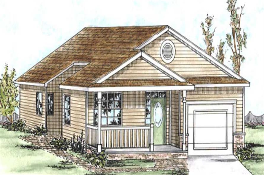 Main image for house plan # 11691