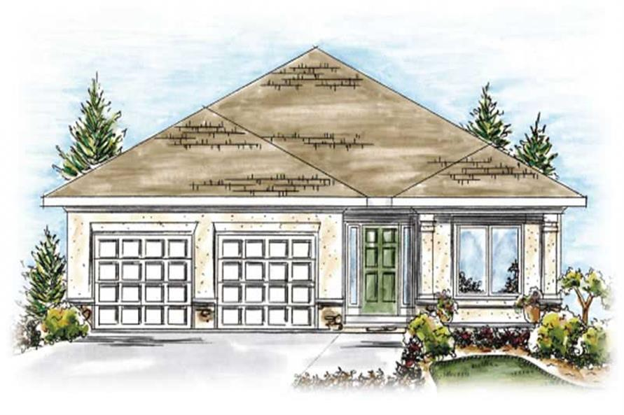 Main image for house plan # 11696