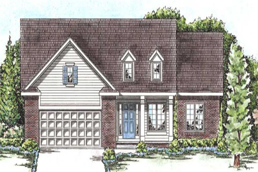 Main image for house plan # 11692