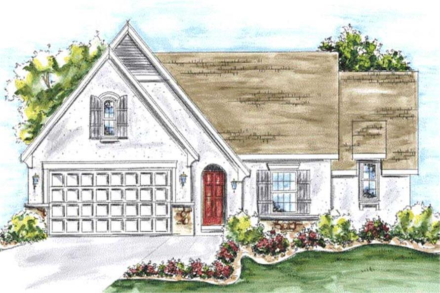 Main image for house plan # 11705