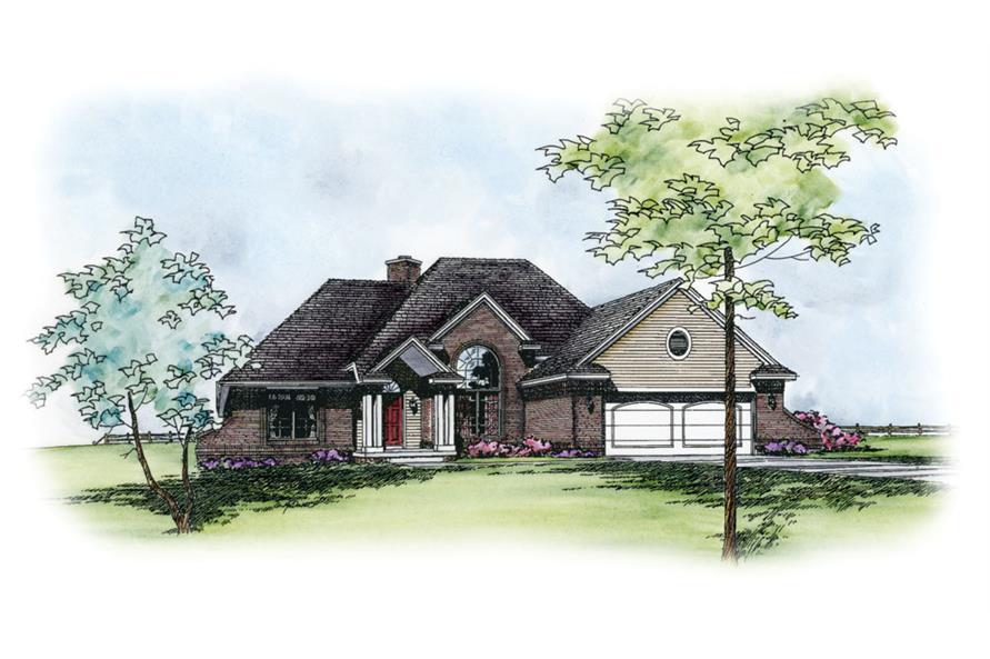 120-2234: Home Plan Rendering