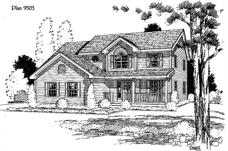 Main image for house plan # 3827