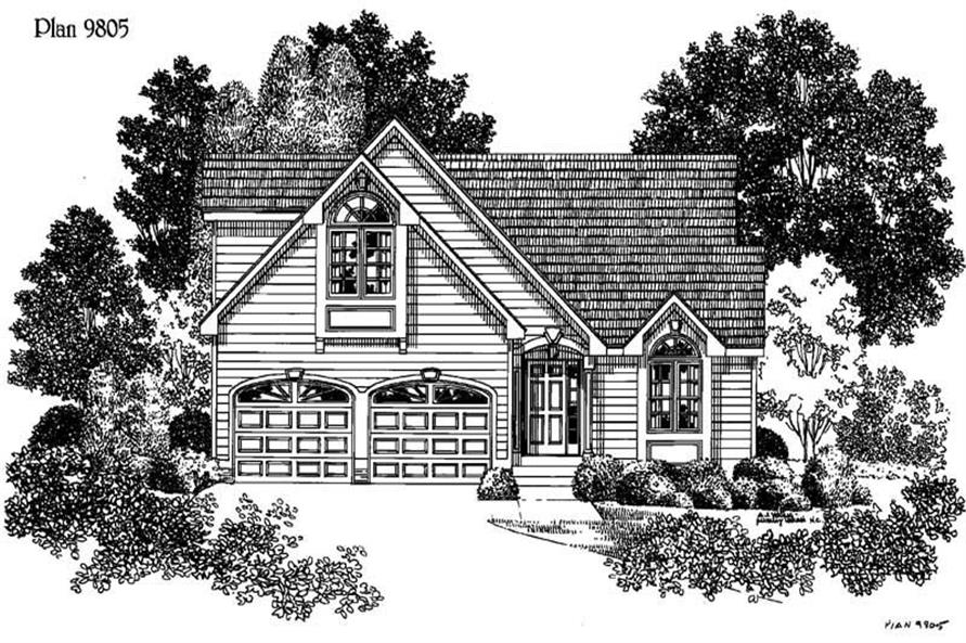 Main image for house plan # 3880
