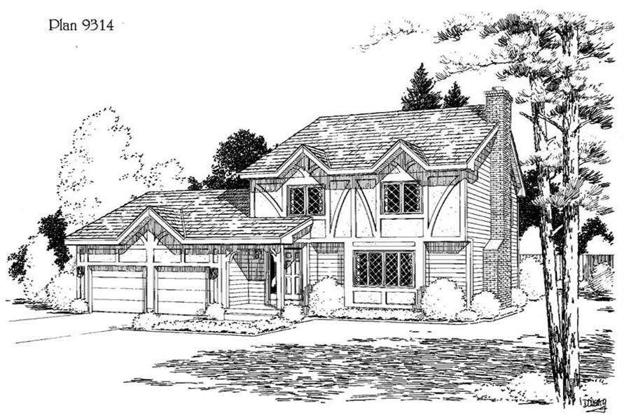 Main image for house plan # 3774