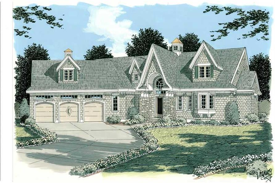 Main image for house plan # 3750