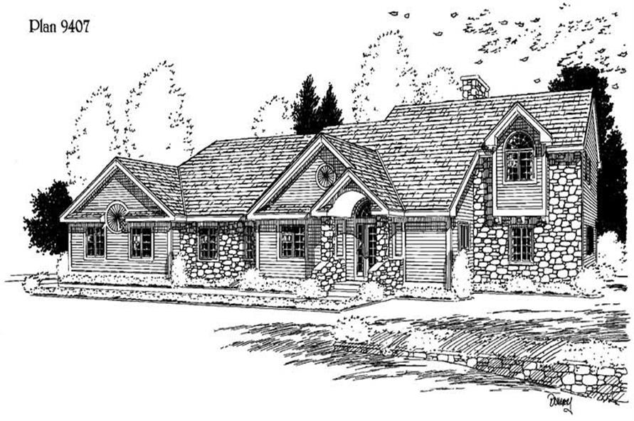 Main image for house plan # 3780