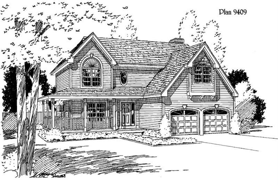 Main image for house plan # 3782