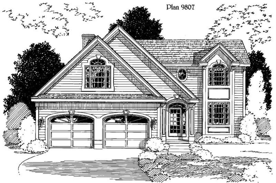 Main image for house plan # 3881