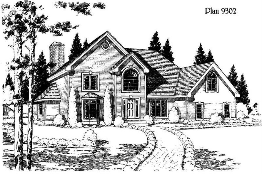 Main image for house plan # 3765