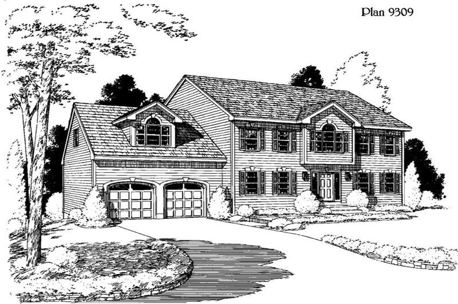 Main image for house plan # 3770
