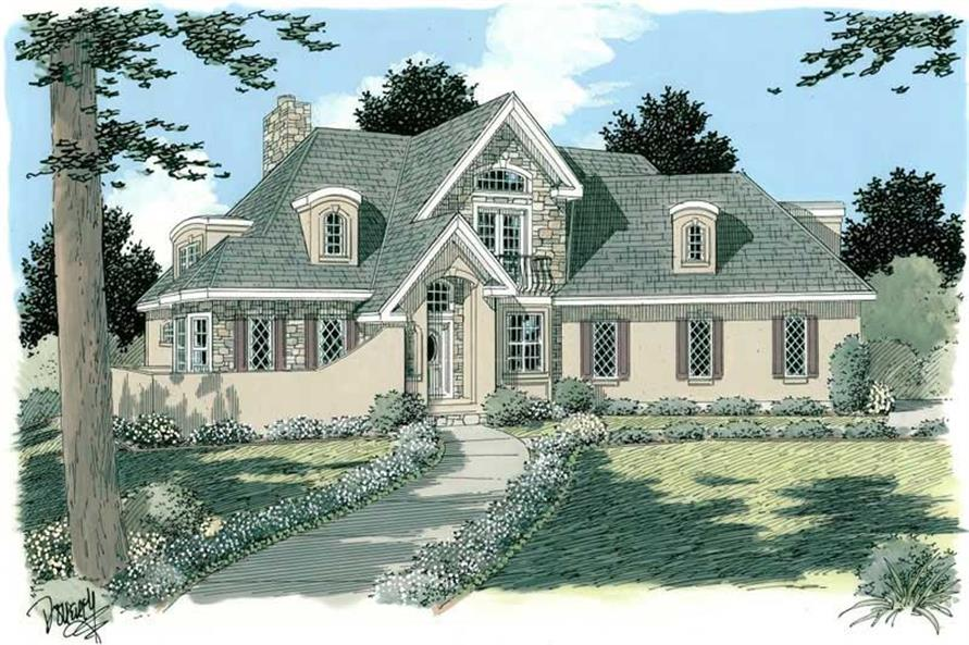 Main image for house plan # 3752