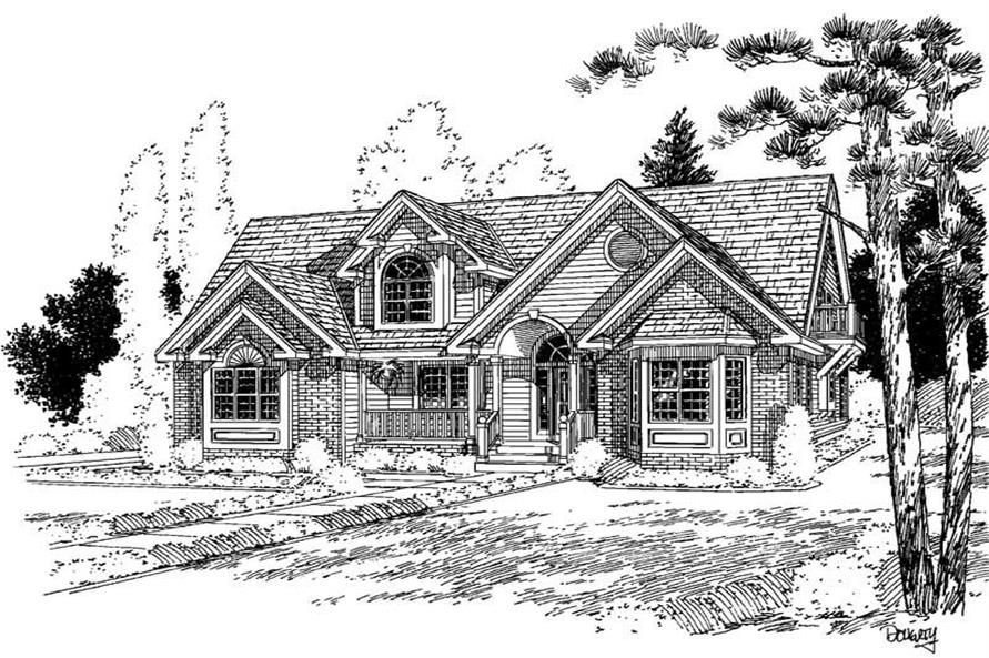 Main image for house plan # 3874