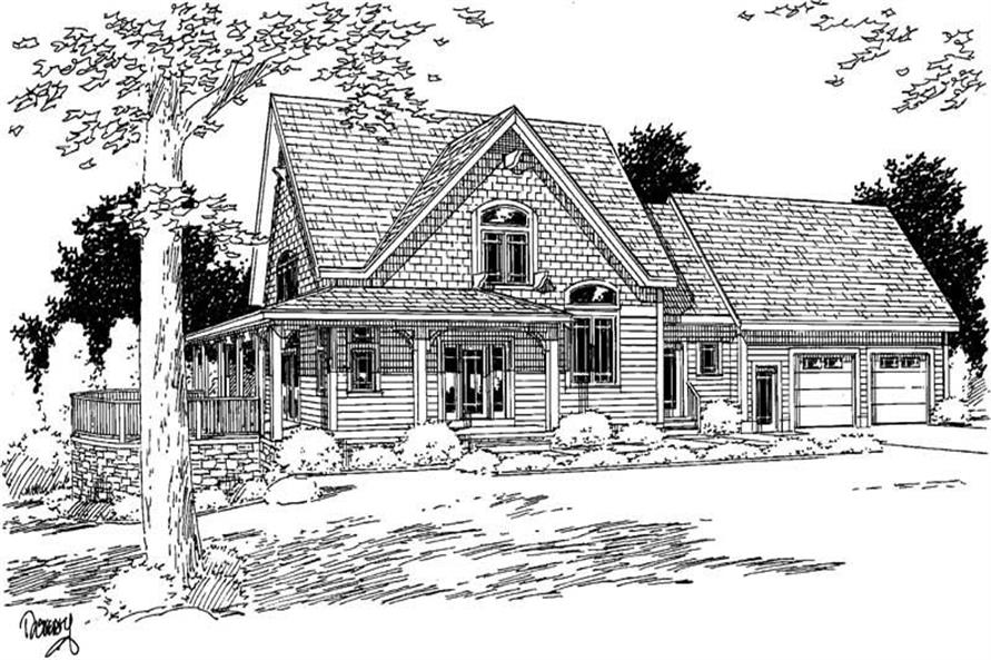 Main image for house plan # 3727