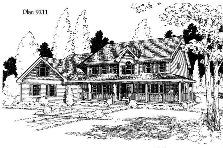 Main image for house plan # 3761