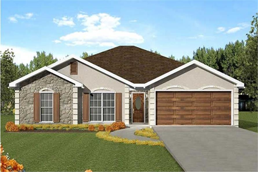 Main image for house plan # 16830