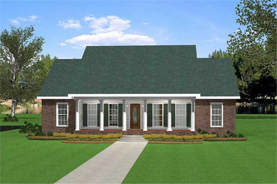 Main image for house plan # 16832